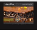 web design and development for Glenn Gilmore