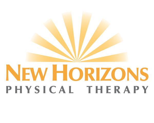 logo design for new horizons physical therapy
