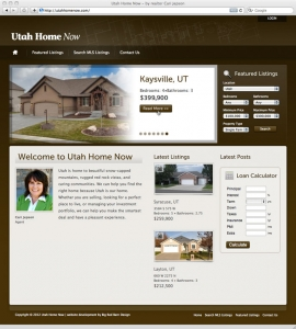website screenshot for utahhomenow.com